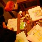 12/28(水) 描き納め。 2011年を1枚の絵に描きあげました。