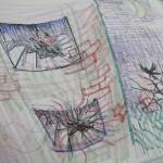 3/26(水) 夢を描く。 こわい夢もありました。