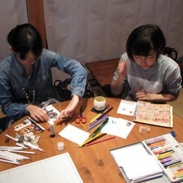 11月「クリスマスカード作り」(四日市)