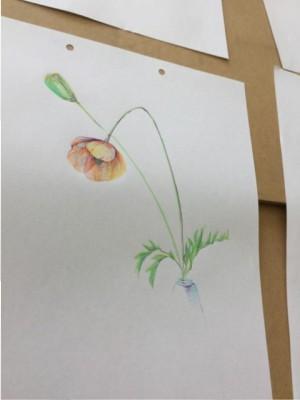 おえかき部「春の静物」