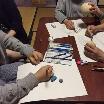 春の体験会のご案内「筆と鉛筆の使い方を学ぶ」(桑名)