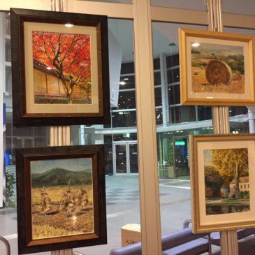 展示のご案内「秋の絵」展