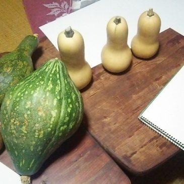 9/6おえかき部桑名「野菜を描く」