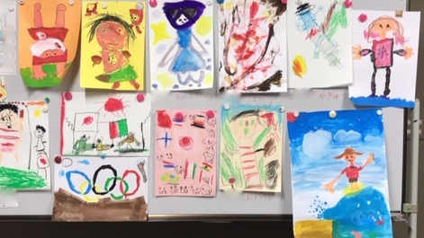 1月親子の部「オリンピック」(桑名)