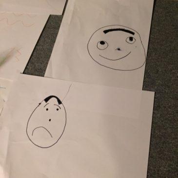 おやこおえかき部3月(年中〜小学校低学年の部)