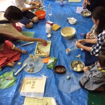 6月「小麦粘土」(親子おえかき部2、3才の部 桑名)