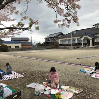 4/3桜スケッチ会